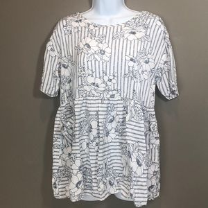 Sweet Claire Baby Doll Blouse